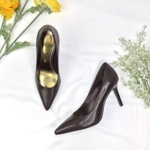 Ralph Lauren Leather Sarina Women's Pumps NWOT